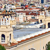 Barcelona rooftops.