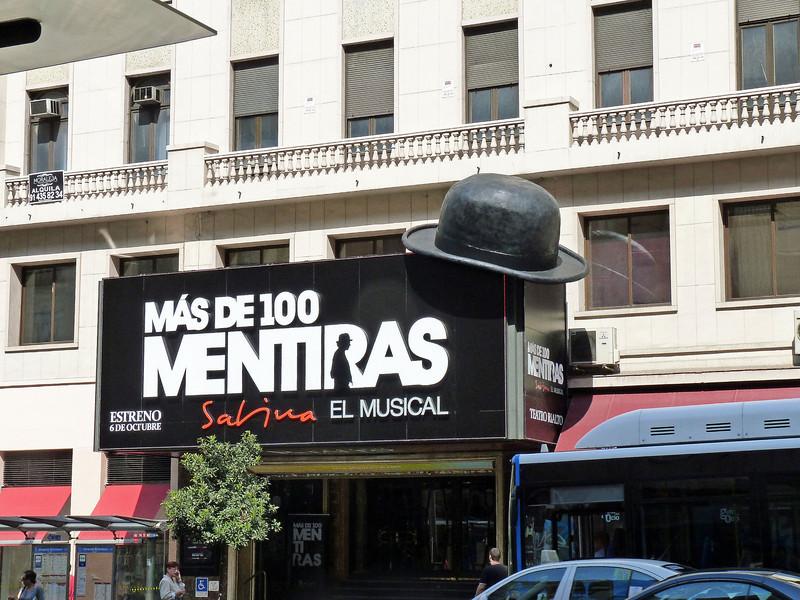 Madrid theater.
