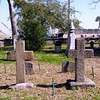 Huguenot Cemetery. The Huguenots were members of the Protestant Reform Church of France.
