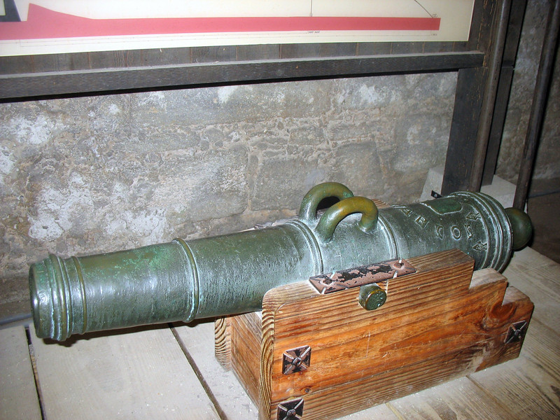 Castillo de San Marcos cannon.