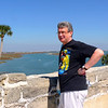 Overlooking Matanzas Bay from Castillo de San Marcos.