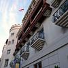Casa Monica tower & balconies.