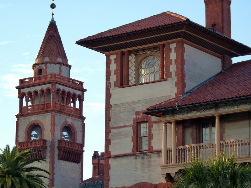 Flagler College tower.