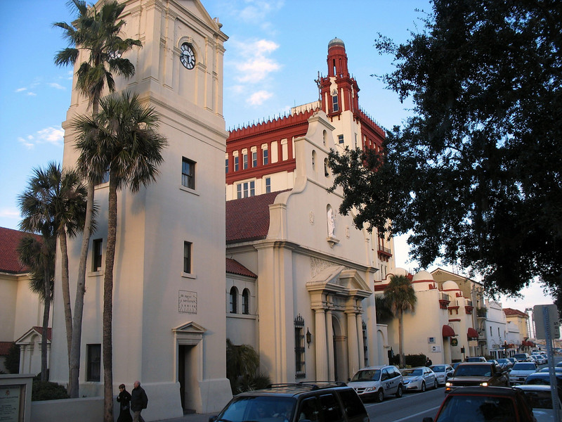 The Cathedral Basilica of St. Augustine was founded in 1565. It's present structure was built in 1797 and restored in 1887.