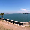 View of Matanzas Bay from Castillo de San Marcos.