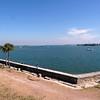 View of Matanzas Bay from Castillo de San Marcos.