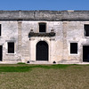 Inside the walls of Castillo de San Marcos.