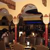 Lobby bar/café. Casa Monica Hotel.