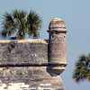 Castillo de San Marcos look-out tower.