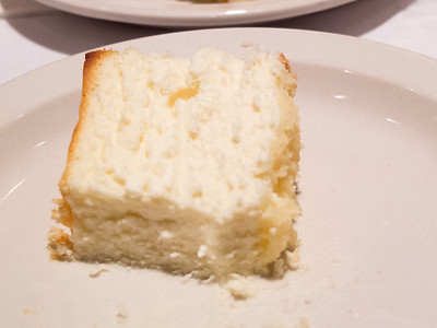 Junior's famous cheesecake in Brooklyn