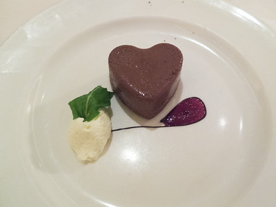 The Love Boat, chocolate dessert