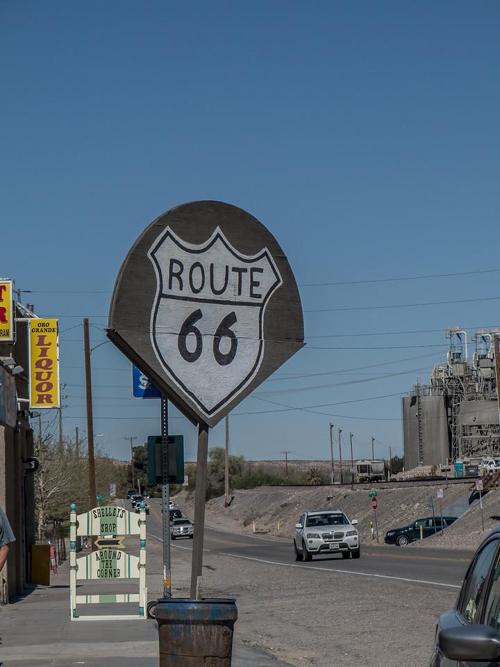 Old Rt 66 - California