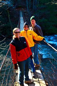 Suspension Bridge at Fall Creek Falls
