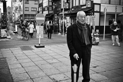 Old guy in Japan
