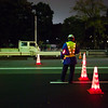 Construction is so much more efficient in Japan, they have lighted cones and vests too
