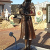 Statue of Dorothy & Toto from Wizard of Oz.