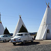 """Wigwam Motel in Holbrook, Arizona, along Route 66.  Inspiration for """"The Cozy Cone Motel"""" in Cars."""