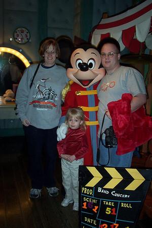 Trip to Grandparents Rinder - December 2001
