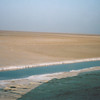 Chott El Djerid Salt Lake, now mostly salt & sand.