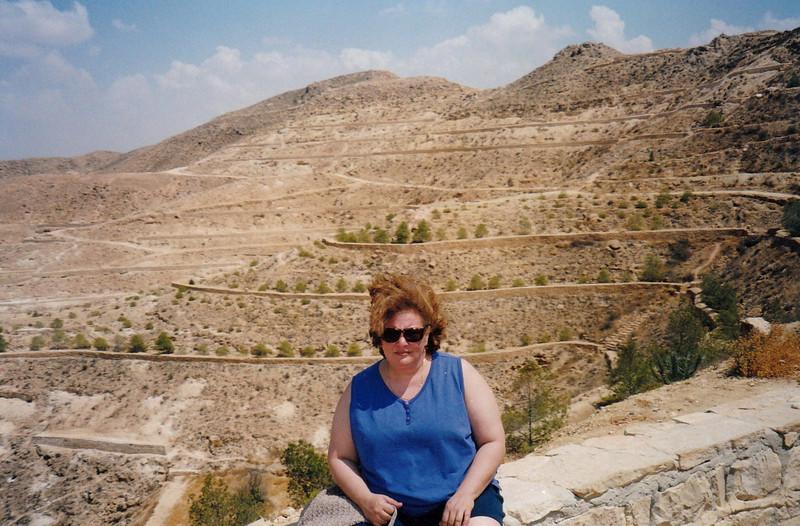 Over the hills towards the Sahara.