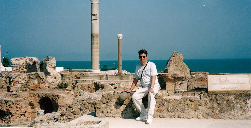Carthage. Not many ruins left of this Phoenician city founded in 814 BC.