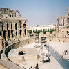 Visit to El Jem. The El Jem Roman amphitheater was the 3rd largest coliseum in the Roman world, behind only Rome & Carthage. (3rd century B.C.)