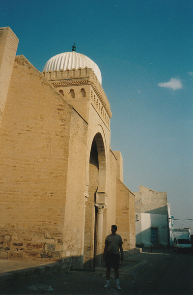 The mosque dates from 863 A.D.
