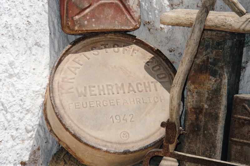Wehrmacht remains.