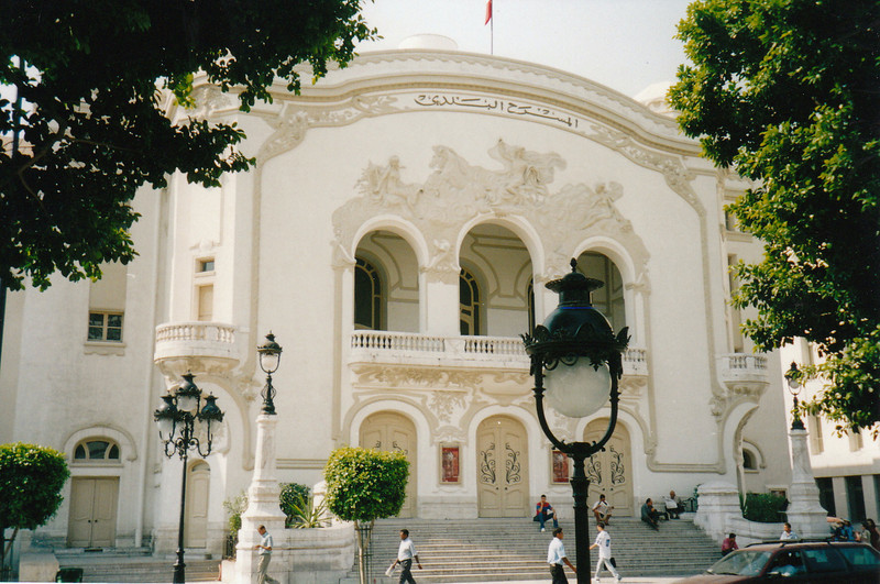 Tunis, the capital of Tunisia, is known as the Paris of North Africa.