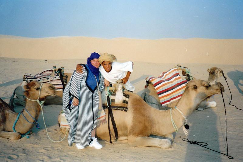 My camel shepherd.