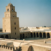 Kairouan Mosque, the 4th holiest place in the Muslim world after Mecca, Medina & Jerusalem.