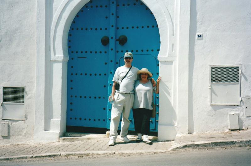 Blue doors of Sidi Bou Said.