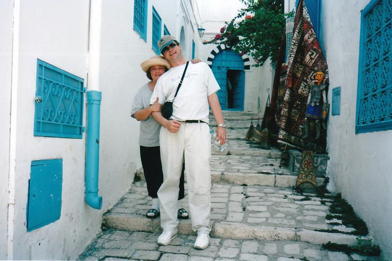 Sidi Bou Said alley way.