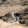Speeding into the Atlas Mountains.