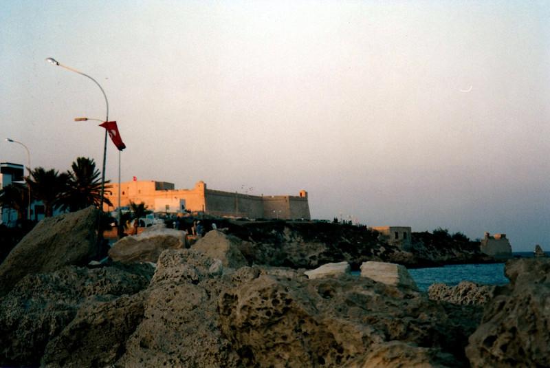 View of Mahdia fortress.