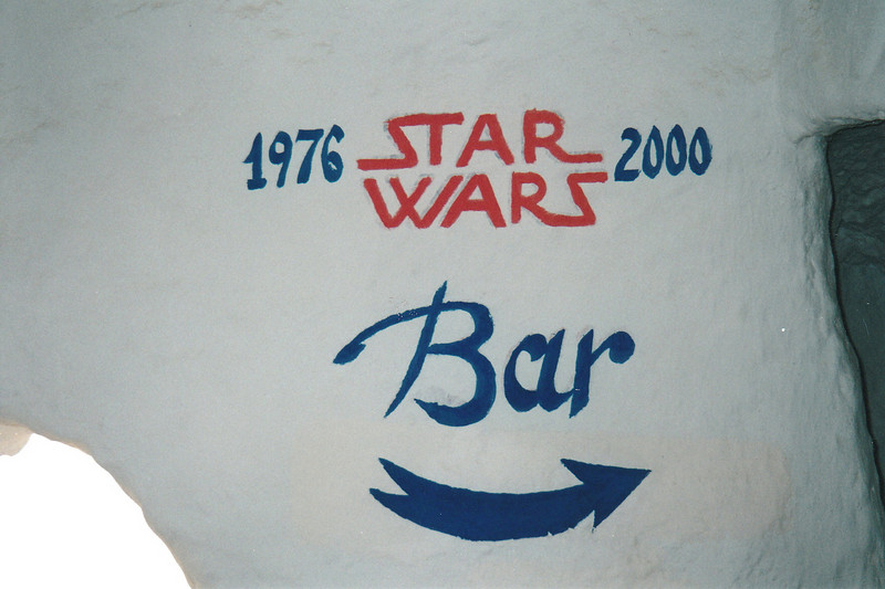 Much of Star Wars was filmed in this area.