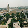 View of Monastir from the fortress. Monastir's a town of just more than 40,000.