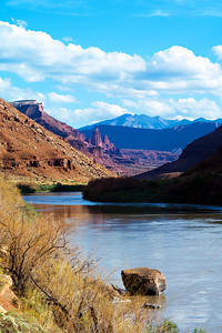 Fisher Towers and the Colorado River