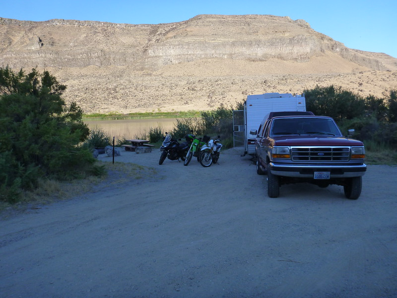 Second Night at Swan Falls, Free Camping on the Snake River!