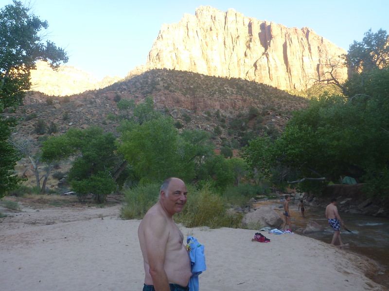 Swimming at Zion