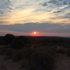Sunset at Horse Thief