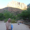 At Zion's Watchman campground