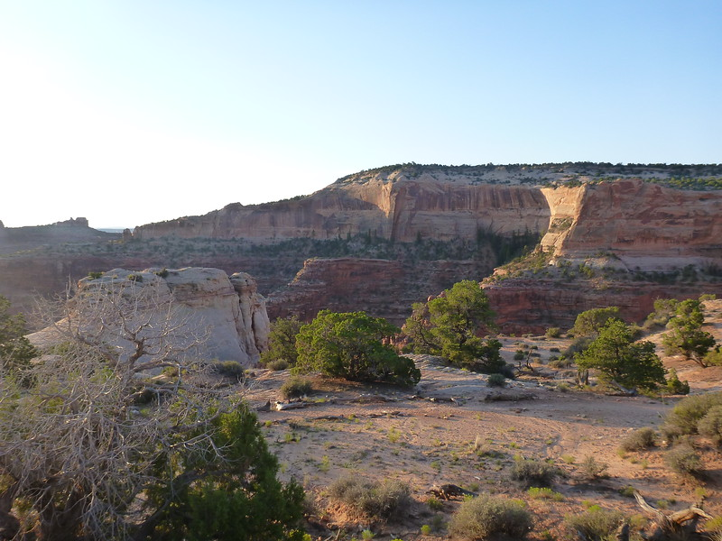 We made it to the Moab area. Camping at the Horsethief CG just north of Canyonlands NP and Dead Horse State Park.