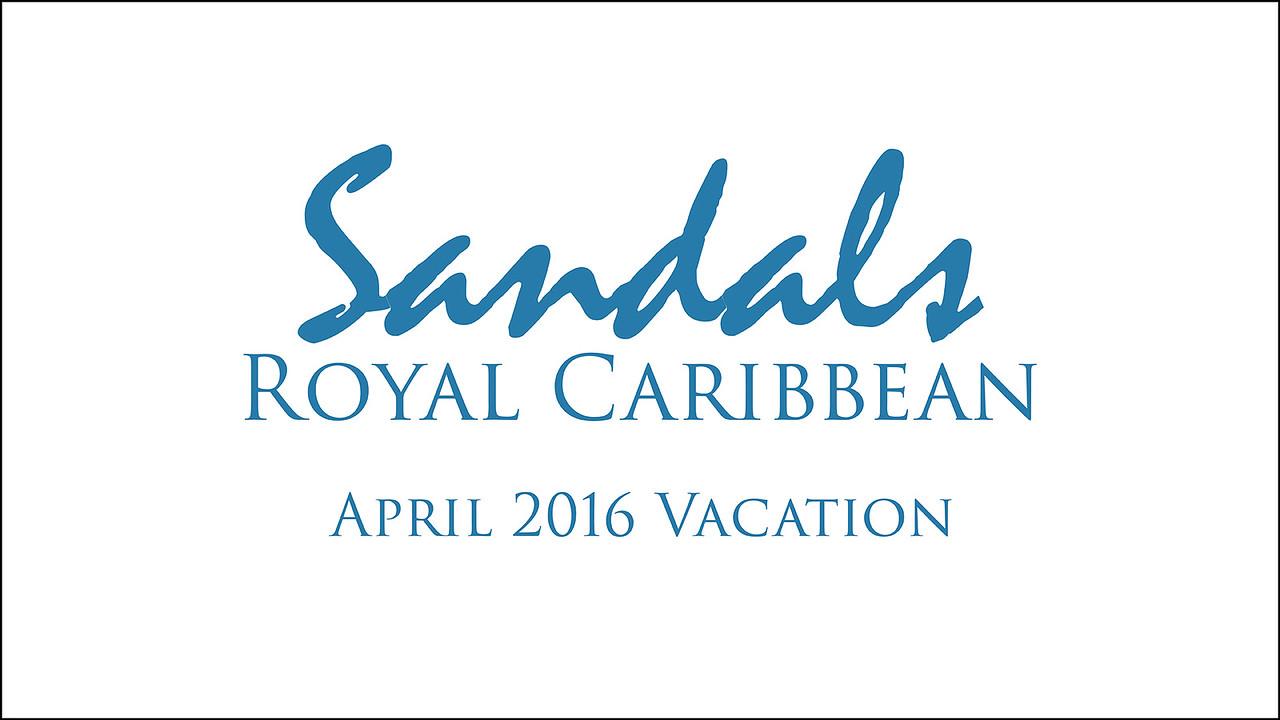 Jamaica 2016 at Sandals Royal Caribbean