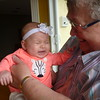 Great Aunt Darlene meets Alliya.
