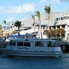 Tourist boat.