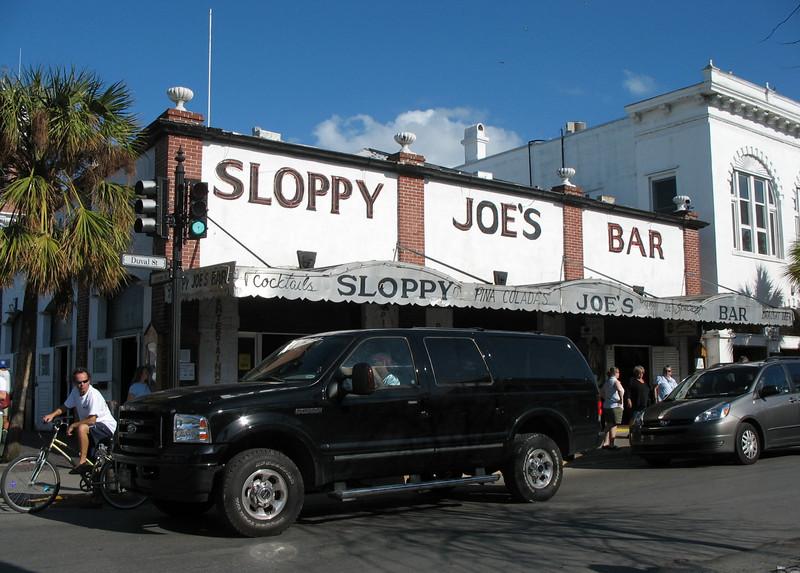Sloppy Joe's, Key West.