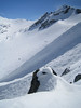 The top of Blackcomb Glacier.