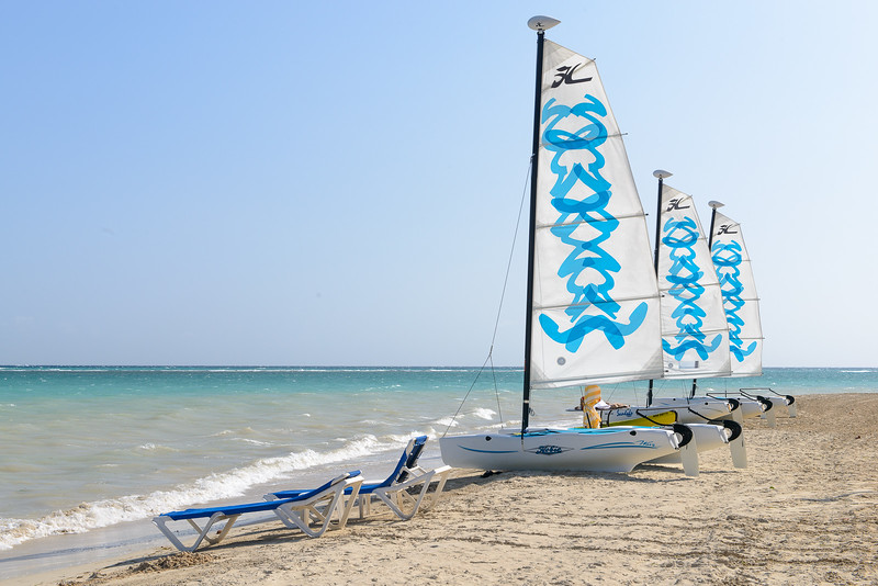 Hobie Cats ready to roll