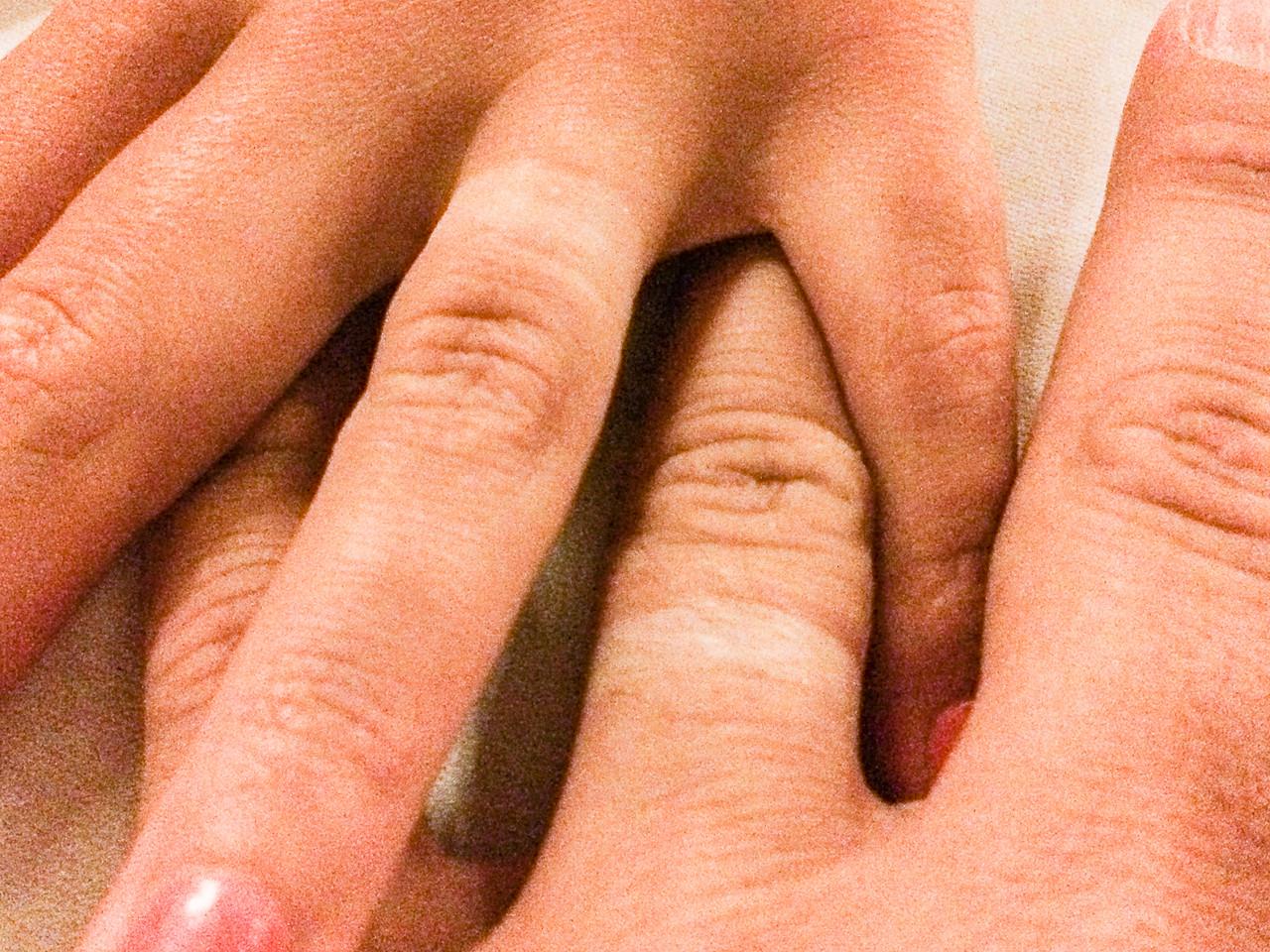 Wedding ring tan lines